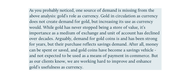 Golds Role as Currency-01