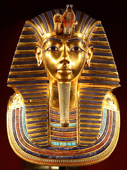 Tutankhamuns death mask