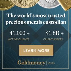 I hold precious metals via GoldMoney